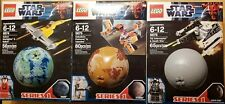 Lego Star Wars 9674 9675  planets with mini figs series 1 (NEW)