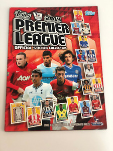 Topps 2014 Premier League Complete Set Loose + Empty Album Brazilian Edition
