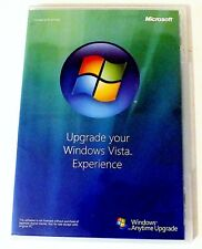 Windows Vista Anytime Upgrade Disc 32 bit English Microsoft Software