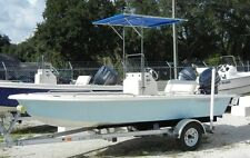 T-TOP FOR SMALLER BOATS, MOUNTS TO HAND RAIL, TAYLOR MADE, W / COVER! DETACHES!