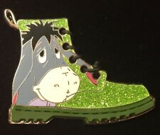 Disney Pin - Eeyore Green Sparkly Boot Steppin' Out Series Le - New