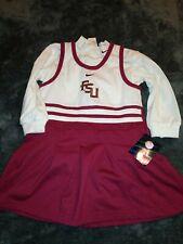 Florida State University FSU Seminoles Toddler 24 months Cheerleader Dress