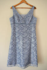 Alfred Angelo Size 18 Lace Evening Dress Cornflower Blue
