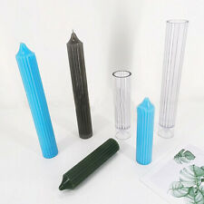 Long Pole Candle Making DIY Mold Plastic Pillar Reusable Easy DIY Craft Supplies