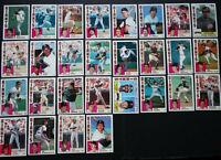 1984 Topps San Francisco Giants Team Set of 28 Baseball Cards