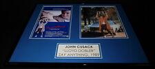 John Cusack Signed Framed 16x20 Photo Set AW Say Anything