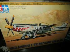 TAMIYA 1/48th SCALE N/A P-51D MUSTANG  ( KOREAN WAR ) MODEL KIT Sealed
