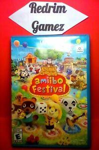 Animal Crossing Amiibo Festival Wii-U Video Games
