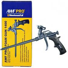 Professional Spray Foam Gun, PTFE Coated for Easy Cleaning, Fits Pro Foam Cans