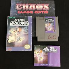 Star Soldier (Nintendo Entertainment System NES, 1988), Complete CIB, Tested