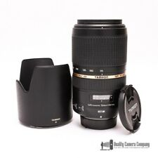 Tamron A005 SP 70-300mm f/4-5.6 Di VC USD for Nikon w/ Caps + Hood - Excellent!