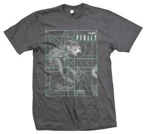 The Pixies Monkey Grid Punk Indie Alternative Rock Music Band T Shirt PIX70031