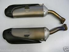 Original Auspuff links rechts Exhaust Muffler Yamaha R1 YZF 1000 Bj 07-08