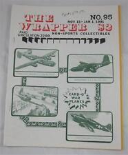 THE WRAPPER NON SPORTS MAGAZINE #95 NOV 1990 CARD-O WAR PLANES