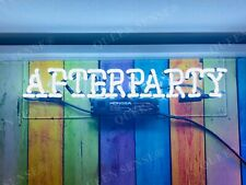 """New After Party Acrylic Neon Light Sign 14""""x4"""" Room Lamps Homemade Display"""