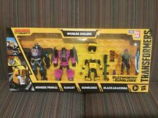Transformers War For Cybertron Buzzworthy Bumblebee Worlds Collide 4 Pack Target