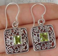 Gemstone Solid Silver, 925 Bali Handcrafted Earring 23074