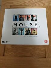 HOUSE M.D. THE COMPLETE COLLECTION; 177 EPISODES; 39 BLU-RAY DISCS