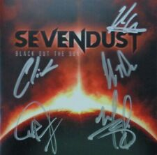 AUTOGRAPHED - Sevendust - 'Black Out The Sun' [CD] + COA