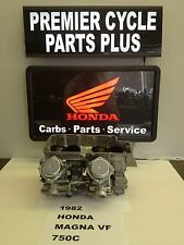 1982 HONDA MAGNA VF 750 C REMANUFACTURED KEIHIN CARBS CARBURETORS READY TO RUN