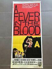 Original Movie Poster 13x30: A Fever in the Blood (1961) Efrem Zimbalist Jr