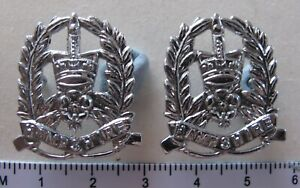 Pair of OBSOLETE Hampshire Constabulary collar badges