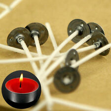 """50pcs Wholesale Pretabbed Large Candle Wicks 7.87"""" Candle Making Supplies Crafts"""