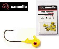 Têtes plombées Cannelle jaune 3.5g N°2 par 5