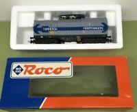ROCO 46296 DB HO TELESCOPIC 4 AXLE WAGON TIPHOOK / FERRYWAGON - NOS - MINT BOXED