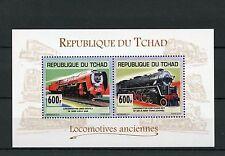 Chadian Sheet Transports Postal Stamps