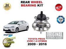 für TOYOTA PRIUS 1.8 Hybrid 2009-2016 NEU 1x Hinterrad Radlagersatz mit Nabe