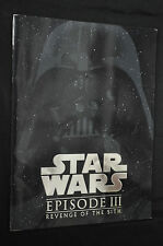 Star Wars Revenge of the Sith Japanese Movie Program Book - (2005) ITB WH