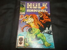 Marvel Comic The Incredible Hulk Annual 13 1984 Friends