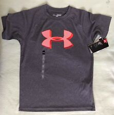 AUTHENTIC UNDER ARMOUR HEATGEAR SHIRT FOR BOYS - GRAY