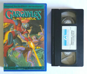 Vhs Film Ita Animazione Gargoyles La Sfida Cartoni Buena Viesta no dvd cd (V206)