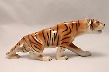 "Vintage Royal Dux Bohemia #312 Tschechische Porzellan große 11"" Bengal Tiger Figur"