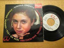 """Gigliola Cinquetti – Non Ho L'eta - Eurovision - French 7"""" EP 1964"""