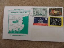 US Envelope: 38th Annual Tri-State Collectors' Exhibition 1993 - Multiple Stamps