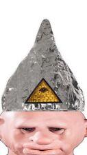 Tin Foil Cap Hat Freak Bizarre Weird Zombie Illuminati WI 5G RFID Conspiracy FI