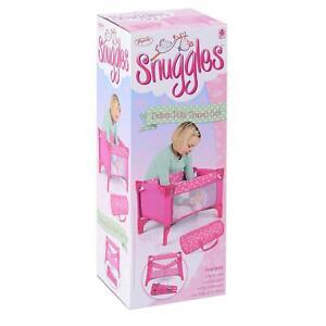 Baby Doll Nursery Play set Travel Cot Stroller Girls Dolly