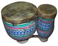 Moroccan Drum Tom-Tom Tabla Darbuka Doumbek Tombak Bongo Colorful Clay Large