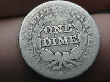 1847 Seated Liberty Dime- Scarce Low Mintage Date