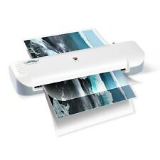 9-Inch Thermal Laminator with 2 Roller System for Office School Home - Moustache