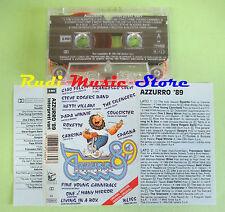 MC AZZURRO '89 compilation 1989 ROXETTE SPAGNA SABRINA SALERNO no cd lp dvd vhs