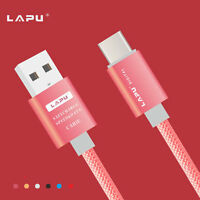 Braided Type C Fast Charging Charger Cable For Samsung Galaxy S9 S8 Plus Note 8