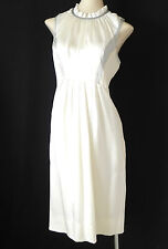 Richard Chai Dress Pearl 100% Silk Sleeveless Size 4