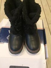 Pajar Canada Iceland Snow Boots Womens Size 10 M Black Nice!