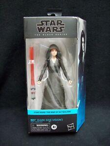 Star Wars Black Series 6 Inch The Rise Of Skywalker Rey Dark Side Vision.