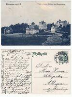 Ellwangen Jagst bei Aalen,Villen Partie Gartenstraße u. Bergstraße 1910