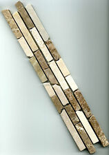 marmor bordre fliese beige milchkaffee 54 x 30 x 08cm naturstein bad dusche
